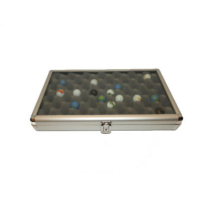 Marble Aluminum Display Case with Foam Insert
