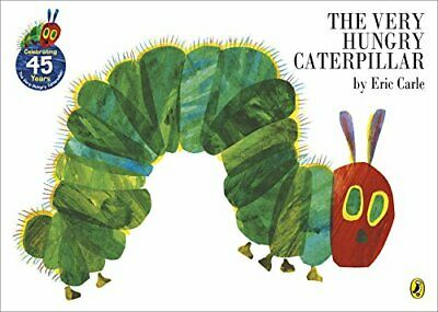 The Very Hungry Caterpillar by Carle, Eric Paperback Book The Cheap Fast Free