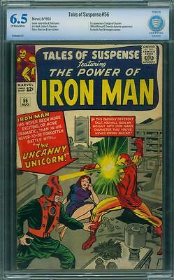 Tales Of Suspense 56 Cbcs 6.5 - Ow/w Pages - 1St Unicorn