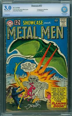 Showcase 37 Cbcs 3.0 - Ow/w Pages- 1St Metal Men