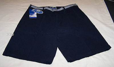 Ford Performance Racing FPR Mens Navy Blue Canvas Team Shorts Size 38 New