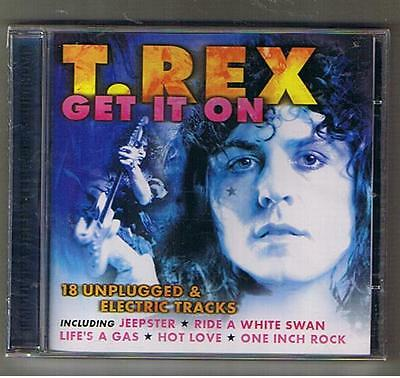 "T.REX Marc Bolan ""GET IT ON"" CD SEALED RARO!!"