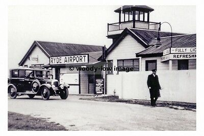rp17396 - Ryde Airport , Ryde , Isle of Wight c1935 - photo 6x4