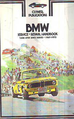 Bmw   1600 2002    Workshop Service Repair  Manual 1967-1972  New