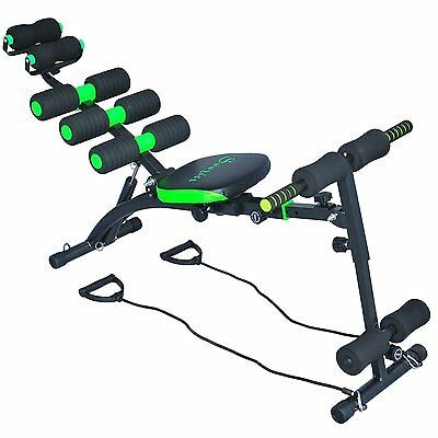 Soozier Adjustable Abdominal Machine Exercise Bench Body Weight Rotated Seat