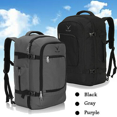 Cabin Approved Travel Air Backpack Carry-on Bag Luggage Convertible Suitcase 40L