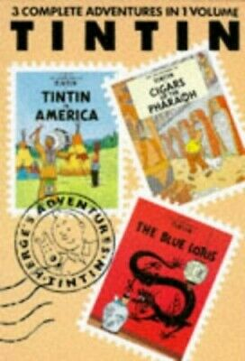 "Adventures of Tintin: ""Tintin in America"", ""Cigars of the Pha..., Herge Hardback"