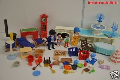 127 playmobil zubeh r f r puppenhaus figuren mit zubeh r eur 19 98 picclick it. Black Bedroom Furniture Sets. Home Design Ideas