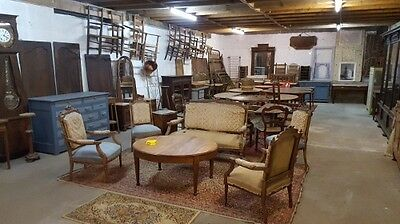 Complete sale of antique furniture stock no restored