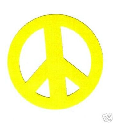 New Full Roll Of 1000 Peace Sign Tanning Stickers