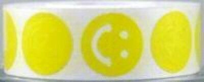 New Full Roll Of 1000 Smiley Face Tanning Stickers