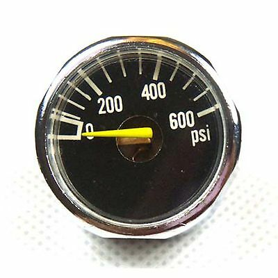 New 600 PSI Paintball Micro Gauge