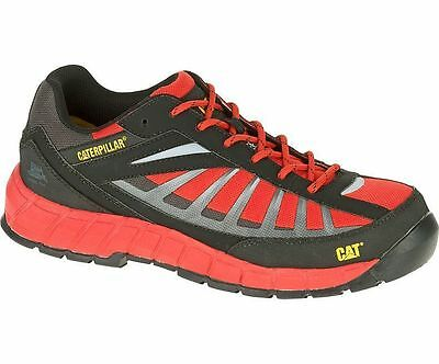 Mens Caterpillar Infrastructure S1P Steel Toe Safety Work Trainers Sizes 6 to 12