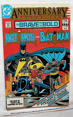 BRAVE & BOLD #200 1982 First KATANA Suicide Squad TV'S ARROW Low Print VF 8.0