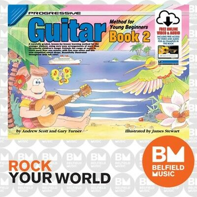 Progressive 18323 GUITAR Method for Young Beginners Book 2 Free CD KPYG2CP