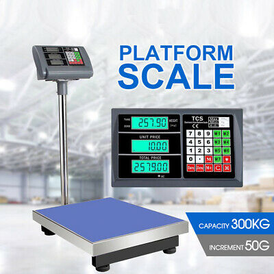 300kg Electronic Computing Digital Platform Scales Postal Shop Scale Weight