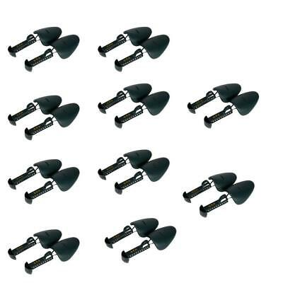10 Pair Durable Form Plastic Shoe Tree Men Practical Boot Shoe Stretcher