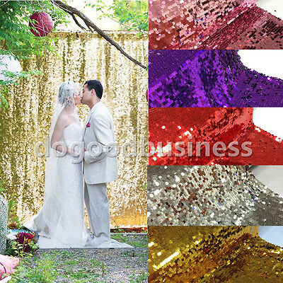 5FT Wide Gold Sequin Photo Backdrop,Wedding Photo Booth, Photography Background