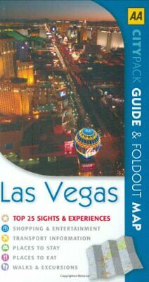 Las Vegas (AA CityPack Guides) (AA Popout Cityguid... by AA Publishing Paperback