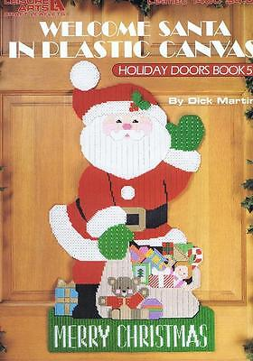 WELCOME SANTA CHRISTMAS Plastic Canvas Cross Stitch Chart Pattern - Dick  Martin