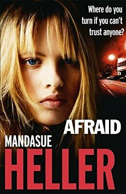 Afraid by Heller, Mandasue Book The Cheap Fast Free Post