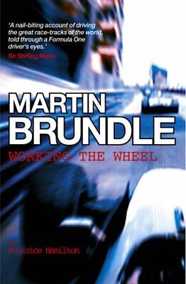 Working the Wheel, Martin Brundle Hardback Book The Cheap Fast Free Post