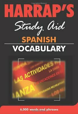 Spanish Vocabulary (New Edition) (Harrap's Spanish Study Aids S.) Paperback Book