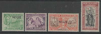 Niue Sg98/101 1946 Peace Issue Mtd Mint