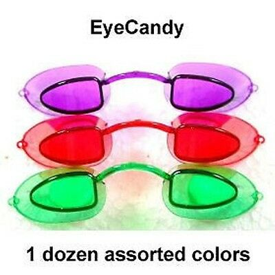 EyeCandy Tanning Bed Goggles Eye Protection Candy NEW!