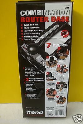 Trend Crb Combination Router Base Attachment Fits Most Routers Special Offer