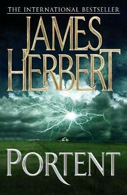 Portent by Herbert, James Paperback Book The Cheap Fast Free Post