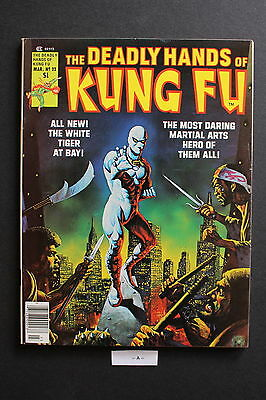 DEADLY HANDS OF KUNG-FU #22 1st cameo JACK OF HEARTS Giffen White Tiger VFNM 9.0