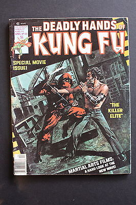DEADLY HANDS KUNG-FU #23 1st full JACK OF HEARTS Iron Fist White Tiger VGFN 5.0