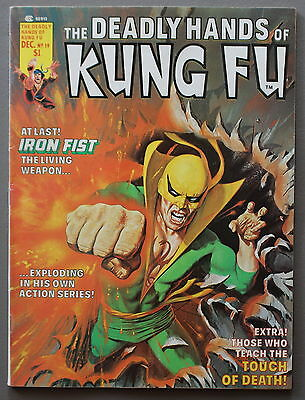 Deadly Hands of Kung-Fu #19 1st Puerto Rican Hispanic Hero WHITE TIGER 1975 FN+