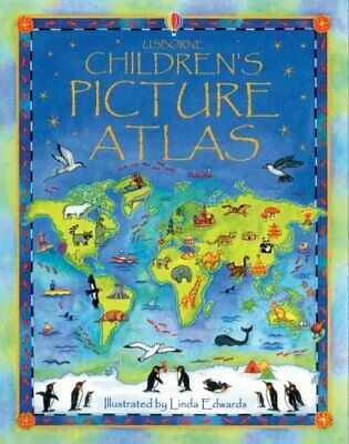 The Usborne Children's Picture Atlas: Miniature... by Ruth Brocklehurst Hardback