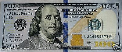 $100.00 Federal Reserve Note  UNC/AU 2009 Series Fastest Shipping!!