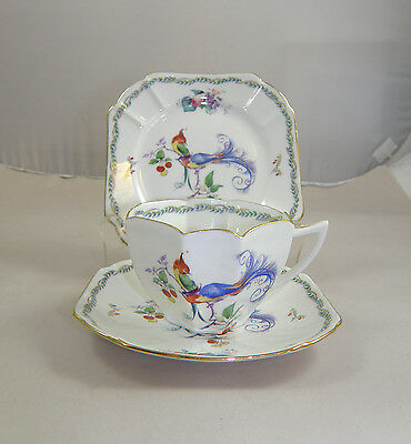 EARLY SHELLEY QUEEN ANNE TRIO - VERSAILLES PATTERN c.1930