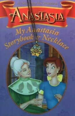 Anastasia Storybook and Necklace Mixed media product Book The Cheap Fast Free