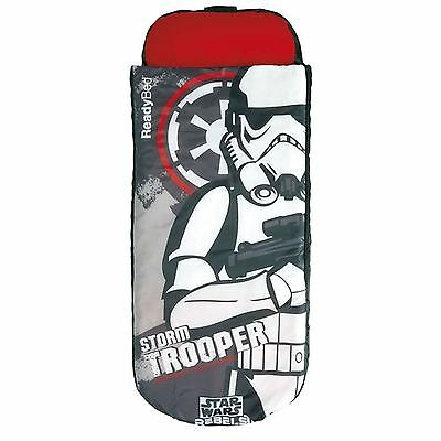 Star Wars Junior Ready Bed - Inflatable Sleeping Bag New