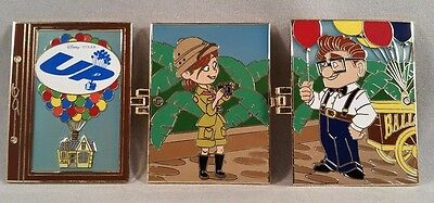 Disney Pixar Up Carl and Ellie Walt Disney World Timeless Tales Disney Pin
