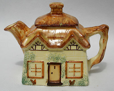 "Vintage Keele St. Pottery Hand Painted Cottage Ware Tea Pot approx.3.5"" high."