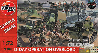 Airfix D-Day Operation Overlord Giant Gift Set  in 1:72 1550162 Glow2B A50162  X