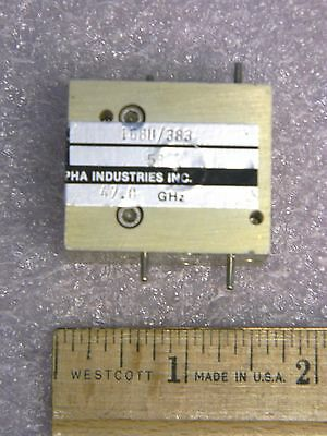 TRG 168U/383 WR19 Waveguide  40-60 GHz Isolator