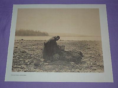Bears Belly15x22 Edward Curtis Native American Indian Art Print