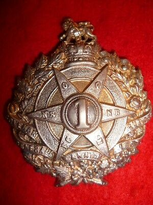 MM10 - Governor General's Bodyguard Victorian Glengarry Cap Badge - Canadian