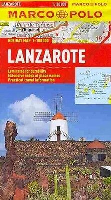 Marco Polo Holiday Map Lanzarote - New Paperback Book