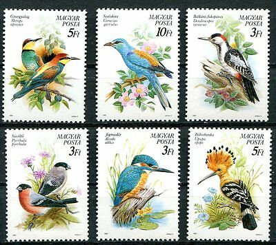 Hungary 1990 Protected Bird Species Mint Complete Set Of 6 Stamps - $4.35 Value!