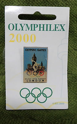 #P179. Olympic 2000 Exhibition Pin - London - 1948