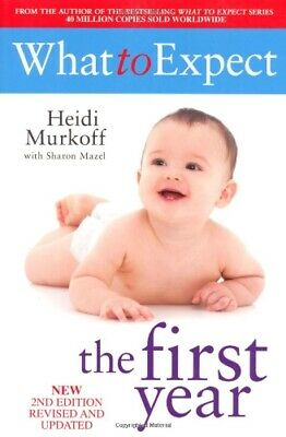 What To Expect The 1st Year [rev Edition] by Murkoff, Heidi Paperback Book The
