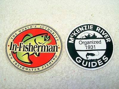 In-Fisherman & McKenzie River Guides New Stickers